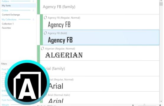 Corel Font Manager