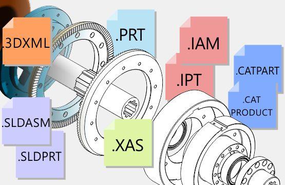 3D CAD yeniden kullanım yetenekleri